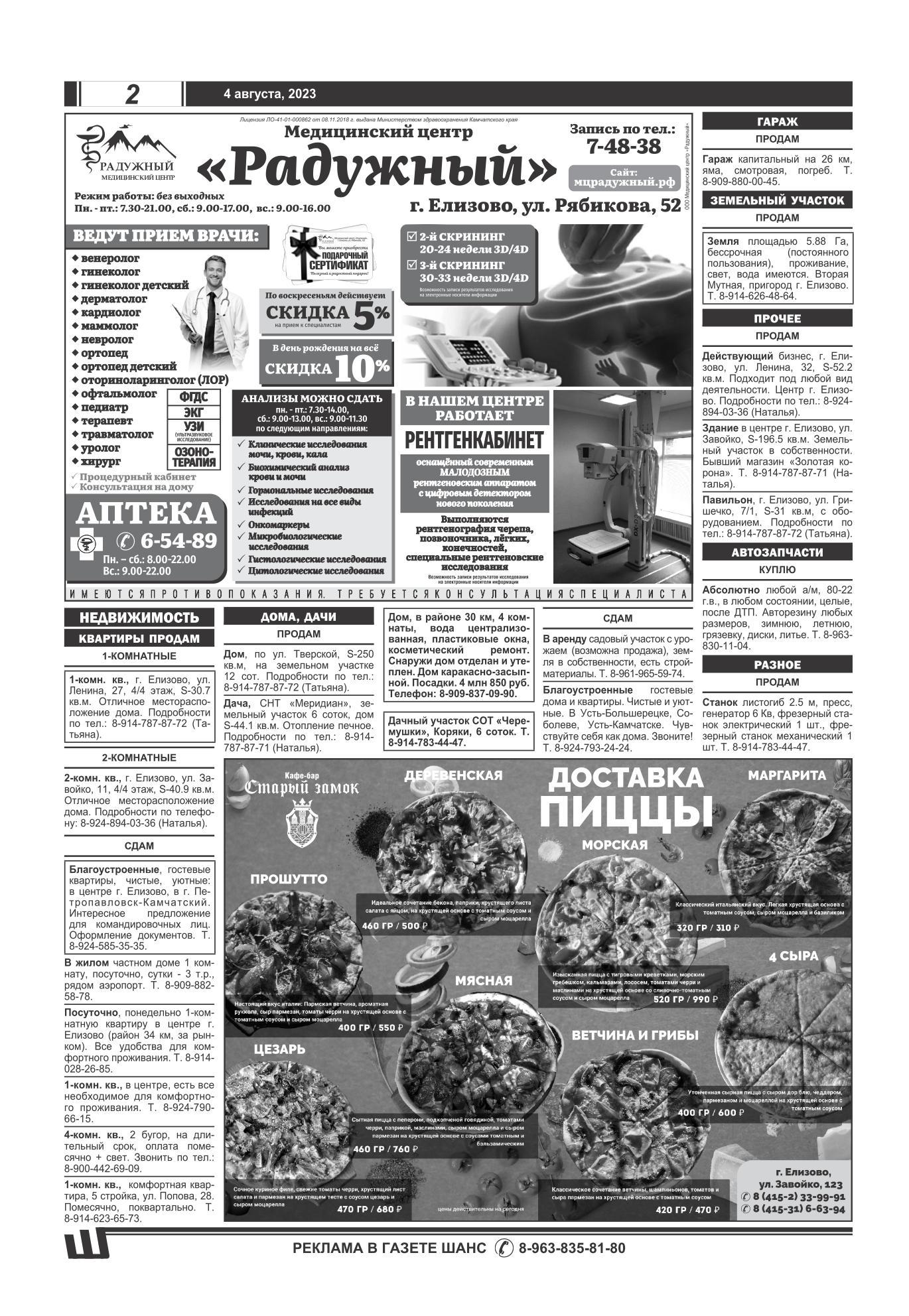 Газета шанс углич подать объявление работа на авито в санкт-петербурге свежие вакансии санитарка